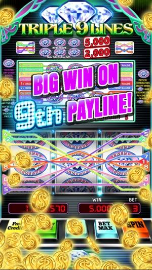 Triple 9 Line Diamond Slot Machine On The App Store