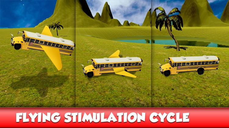 Flying Bus Stunts : Flight Simulator 2016 screenshot-4