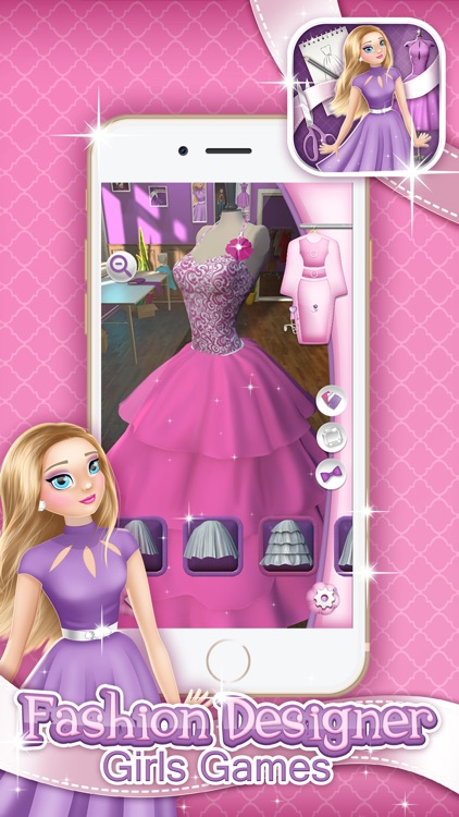 Fashion Designer Girls Game: Make Your Own Clothes by ...