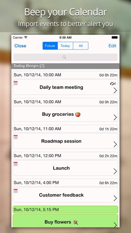 Beep Me - Reminders screenshot-4