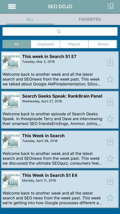 SEOdojo Radio screenshot-2