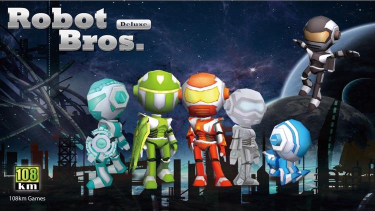 Robot Bros Deluxe Free screenshot-0