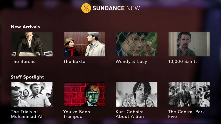 Sundance Now: Films & Series
