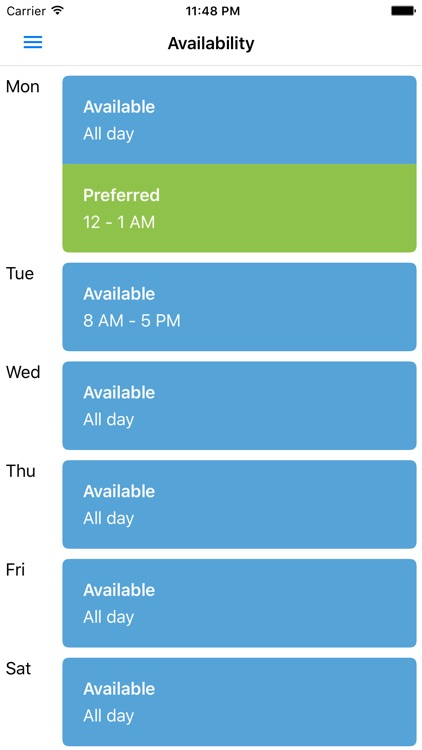 Employee Schedules by SICOM