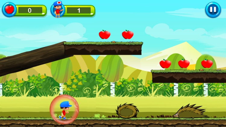 Super Jungle World - Boy Run Adventure Apple