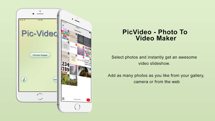 PicVideo- photo to video maker