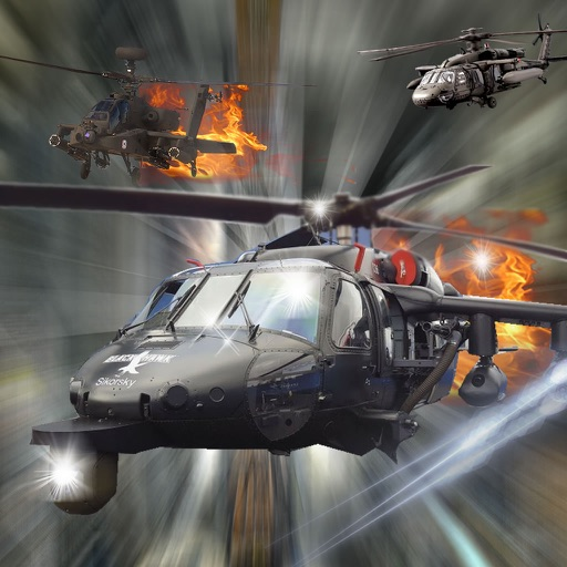 Active Force Of Copters - Carrier Combat Flight Simulator Game icon