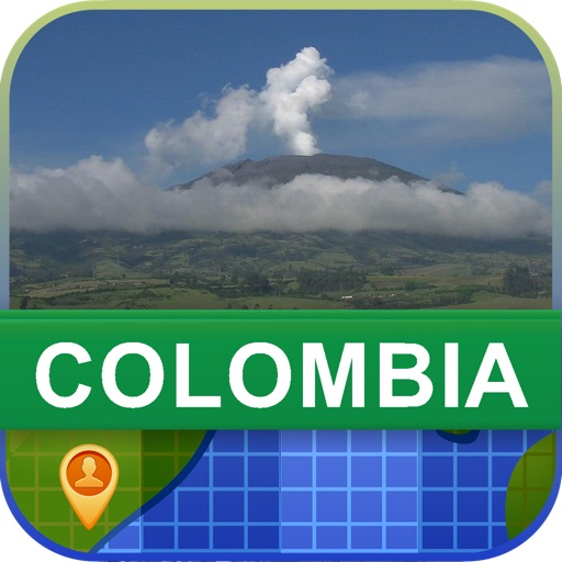 Offline Colombia Map - World Offline Maps icon