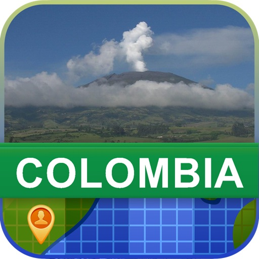 Offline Colombia Map - World Offline Maps