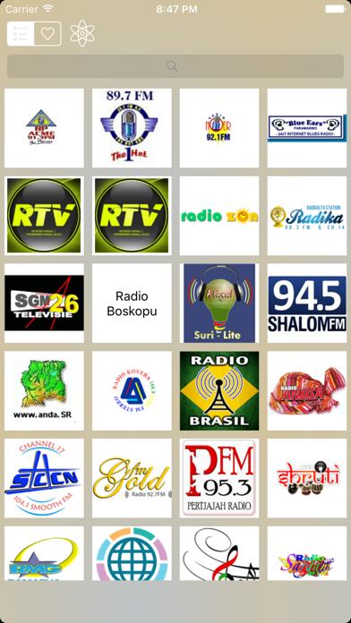 Radio Suriname (Dutch / Paramaribo) screenshot two