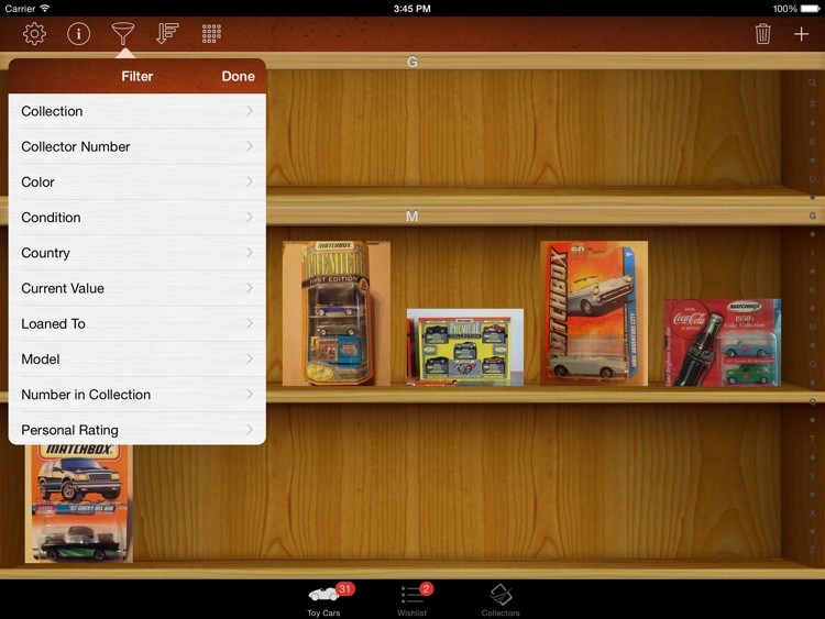 Toy Car Collectors for iPad