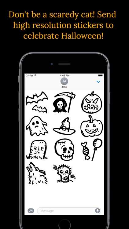 Halloween Emoji screenshot-1