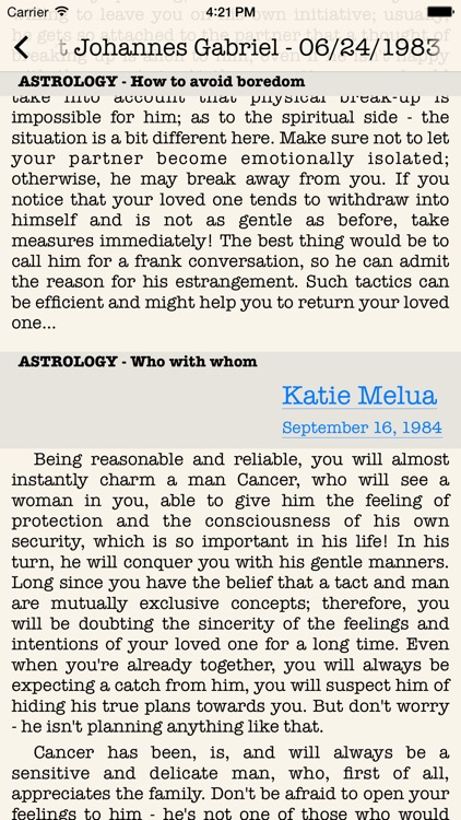 Love Map PRO-Astrological key to man's heart screenshot-4