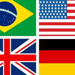 Guess the Country Flag! Trivia Word Puzzle Game