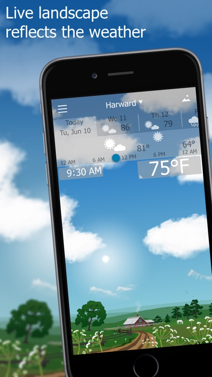 Precise Weather YoWindow screenshot-0