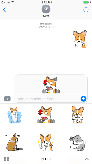 Lucy The Welsh Corgi Animated - Lazy Day screenshot three