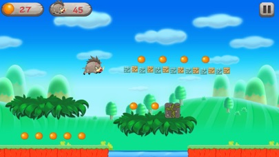 Super Pigwild Running Adventune screenshot one
