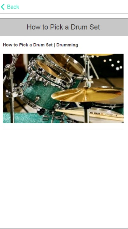 Drum Tutorial - Learn How To Play The Drums screenshot-3