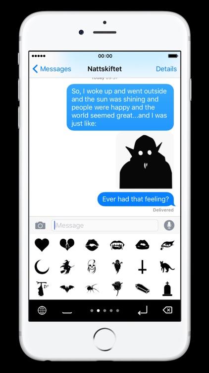 Goth Emoji screenshot-3