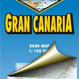 Gran Canaria. Road map.