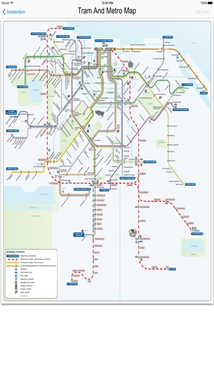 Amsterdam Metro Train Maps screenshot-3