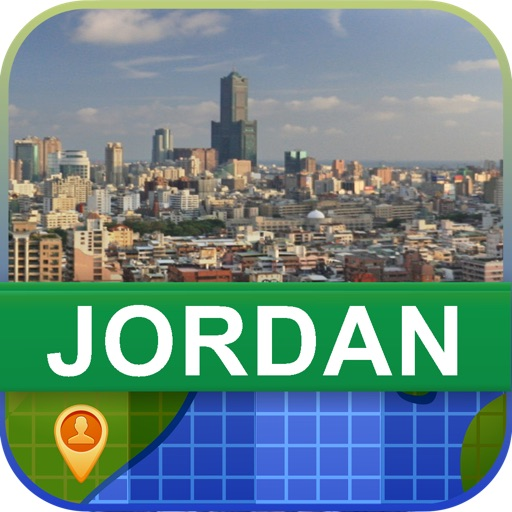 Offline Jordan Map - World Offline Maps