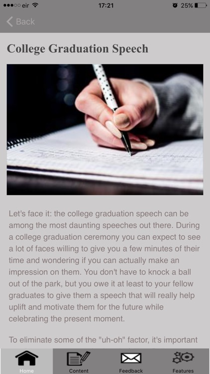 How To Write A Graduation Speech