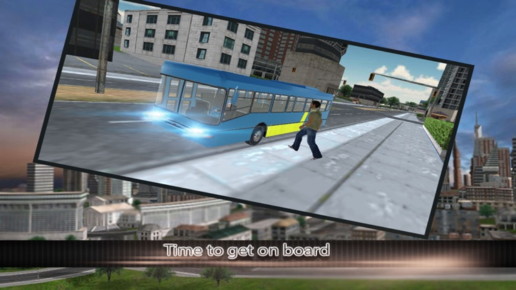 Modern city bus driver 3d : free simulation game