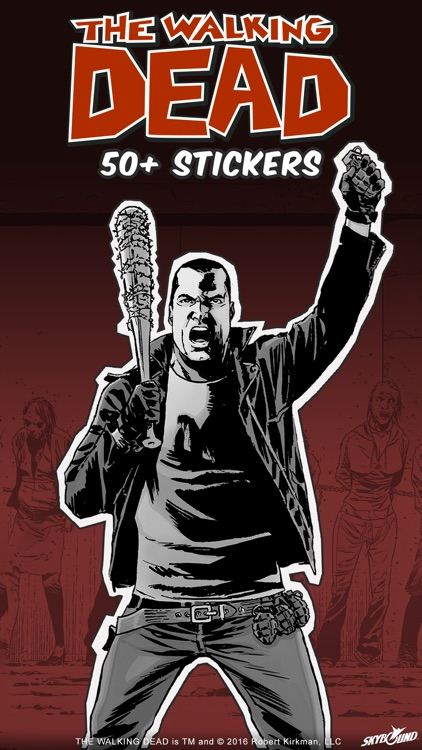 The Walking Dead ™ Stickers