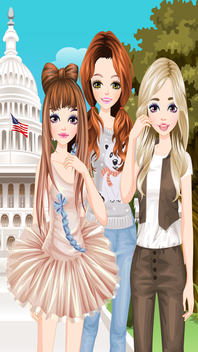 American Girls 2 - Dress up and make up game for kids who love