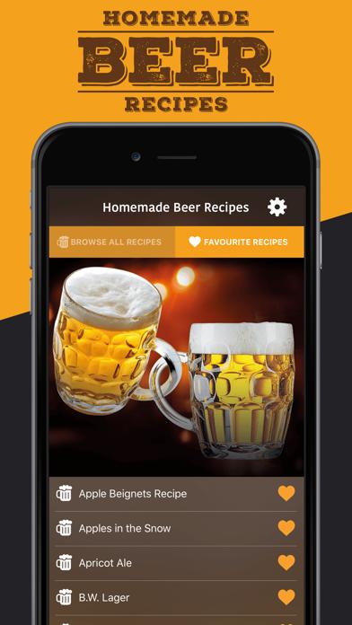 Homemade Beer Recipes screenshot three