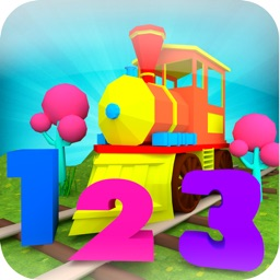 Numbers Train Game For Kids: Learn 1 to 10