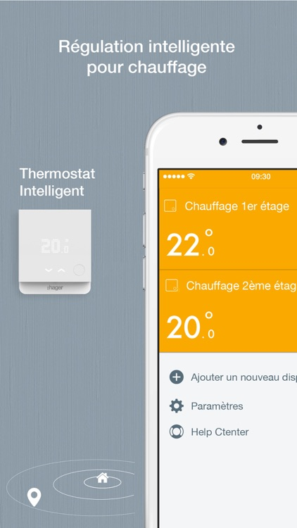 Hager Smart Thermostat screenshot-4