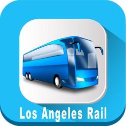Los Angeles Rail California USA where is the Rail