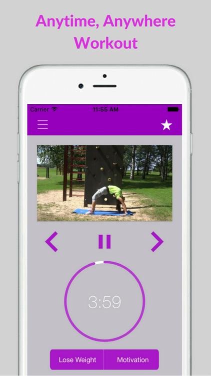 Calisthenics Exercises Bodyweight Workout Training screenshot-3