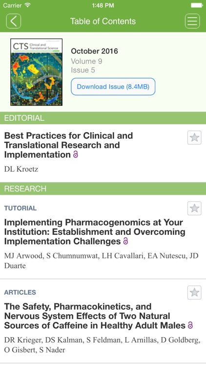 Clinical and Translational Science screenshot-4