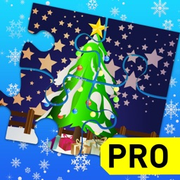 Xmas Jigsaw Puzzles Game for Kids PRO