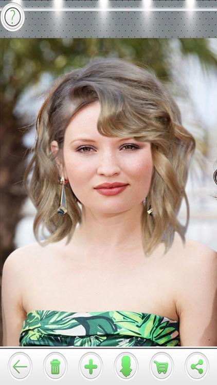 Try On Celebrity Hairstyles Premium screenshot-3