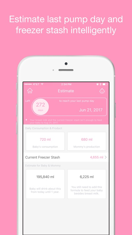 Pumping Tracker - Breast Milk Pump Log for Mama screenshot-3