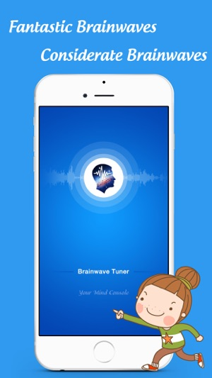BrainWave Tuner - Binaural beats & white noise Screenshot