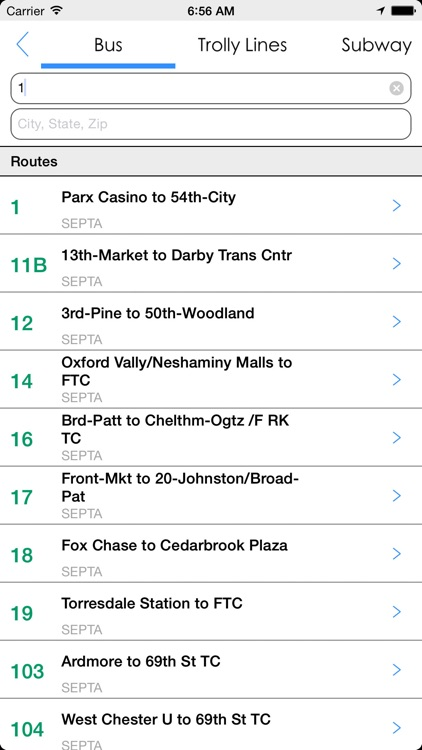 Transit Tracker - Philadelphia (SEPTA) screenshot-4