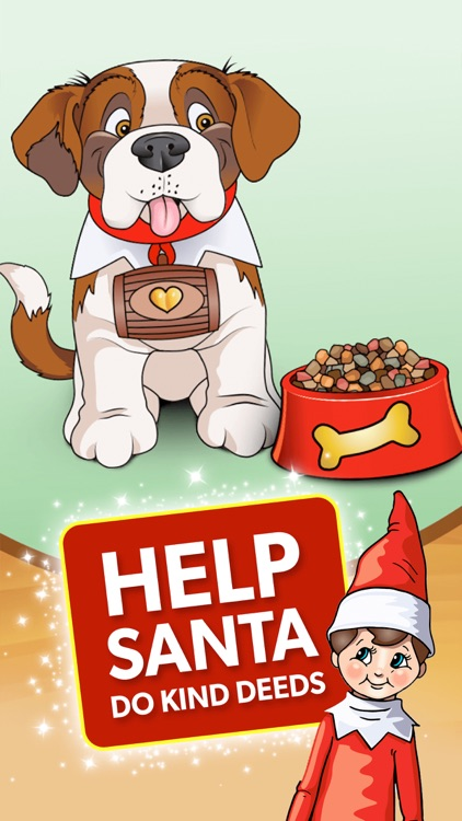 Elf Pets® Pup - Christmas Run screenshot-0