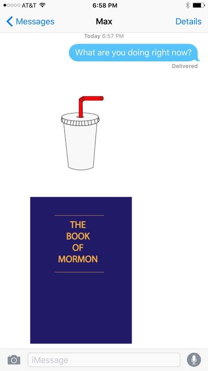 Mormoji Mormon Emojis screenshot-3