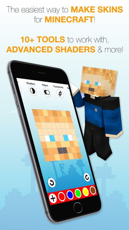 Best Skins Creator Pro - for Minecraft PE & PC