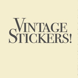 Vintage Film Animated Stickers