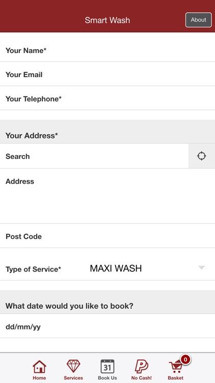Smart Wash - Mobile Car Wash screenshot-4