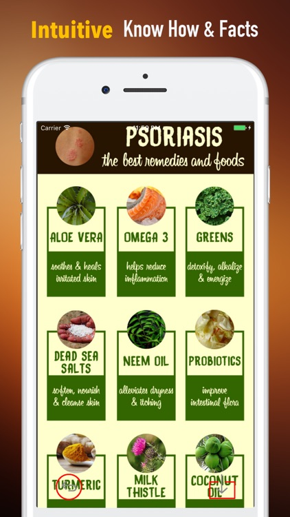 Psoriasis Cookbook-Diet and Natural Treatment screenshot-0