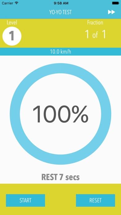 YO YO Endurance Test screenshot1