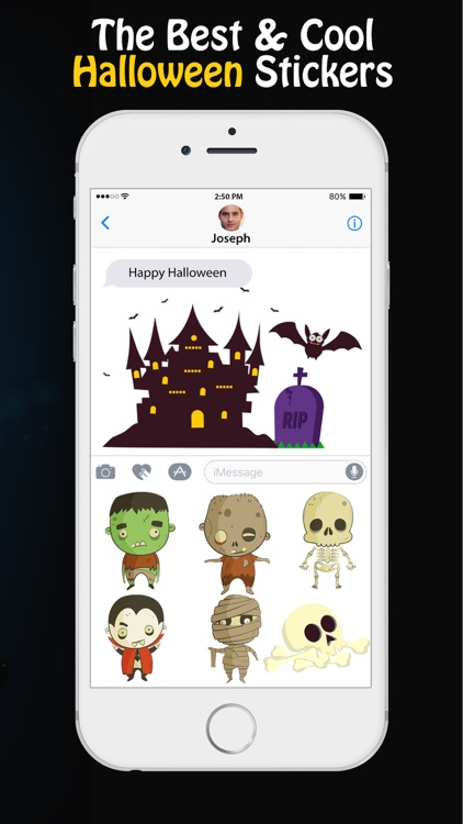 Happy Halloween Stickers for iMessage app