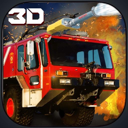 911 Пожарник Грузовик Симулятор - Погасите игре